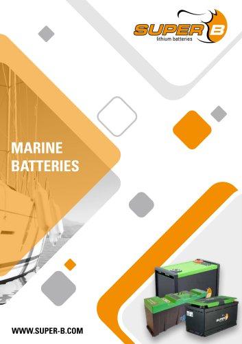 Super B Marine Batteries
