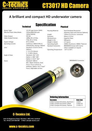 CT3017 HD Camera