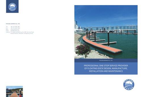 Potona Marine Brochure