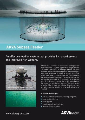 AKVA Subsea Feeder