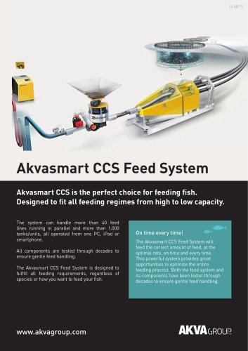 Akvasmart CCS Feeding System