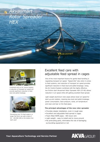 Akvasmart Rotor Spreader HEX