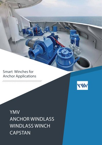 YMV Anchor Windlass Catalogue
