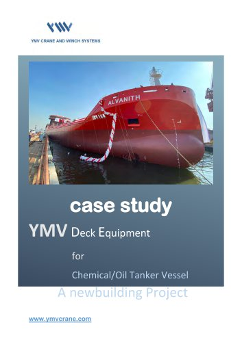 YMV Case Study: Deck Equipment for Chemical/Oil Tanker Vessel