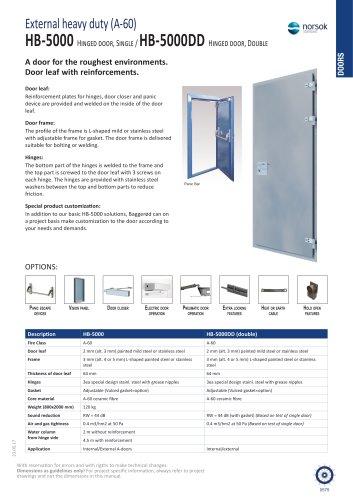 HB-5000 / HB-5000DD