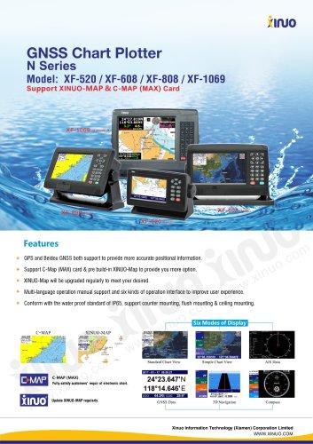 XF-520&608 &808&1069 GNSS Navigator