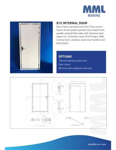B15 INTERNAL DOOR